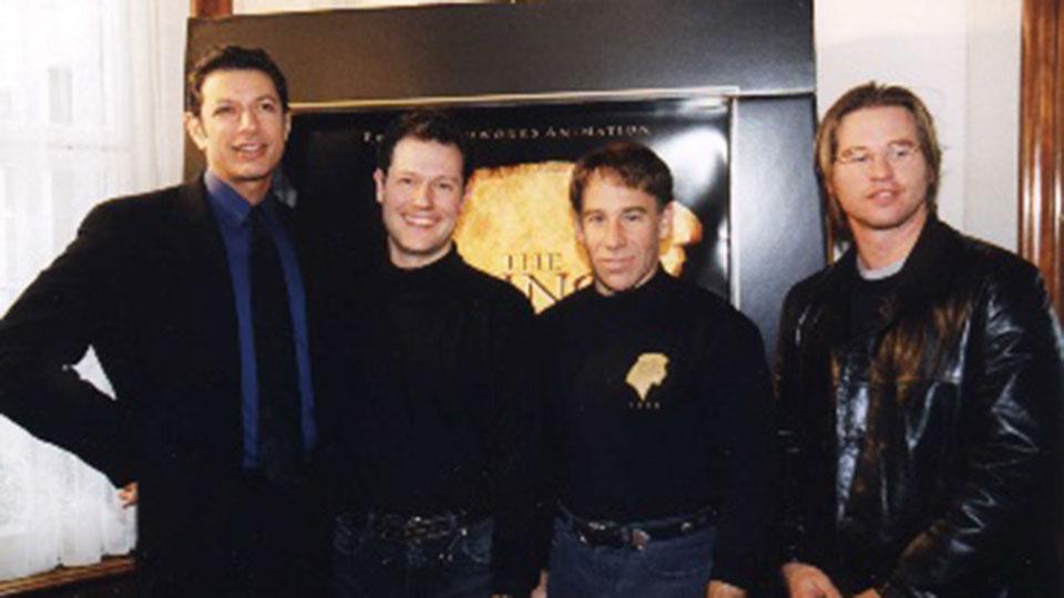 Jeff Goldblum, Philipp Portmann, Stephen Schwarz, Val-Kilmer - THE PRINCE OF EGYPT - Zürich 1998