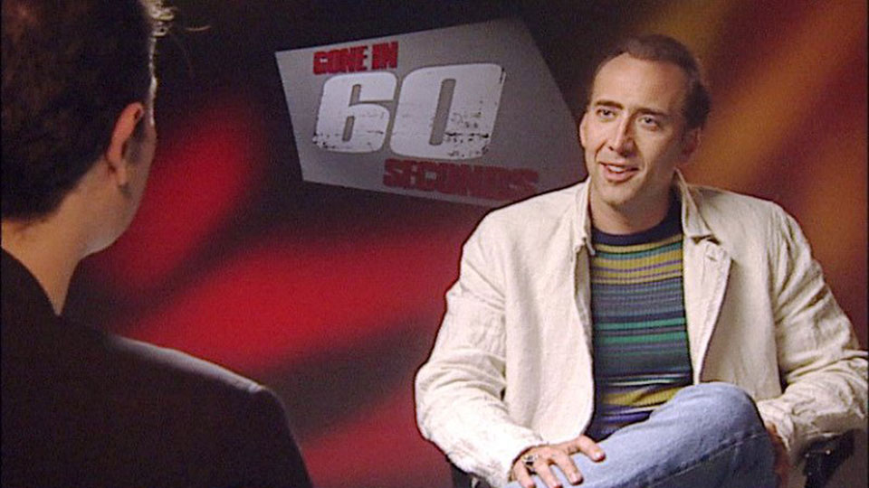 Nicolas Cage - GONE IN 60 SECONDS - Athen 2000