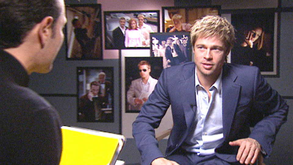Brad Pitt - OCEANS 11 - London 2001