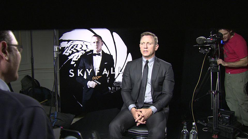 Daniel Craig - SKYFALL - London 2012