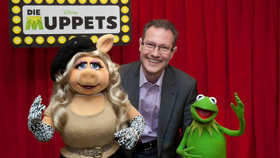 Miss Piggy und Kermit - THE MUPPETS - Berlin 2012