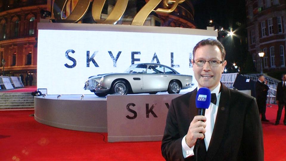 Weltpremiere - SKYFALL - London 2012