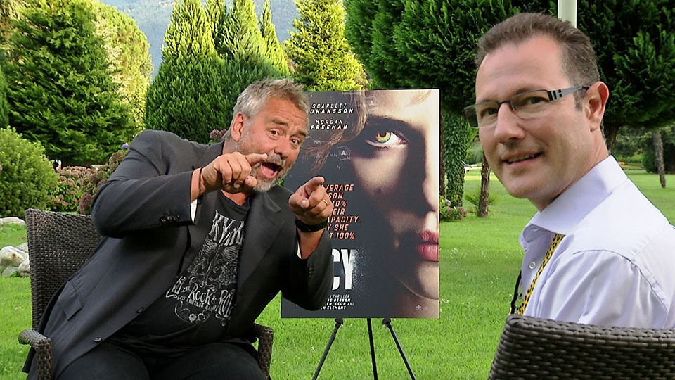 Luc Besson - LUCY - Ascona 2014