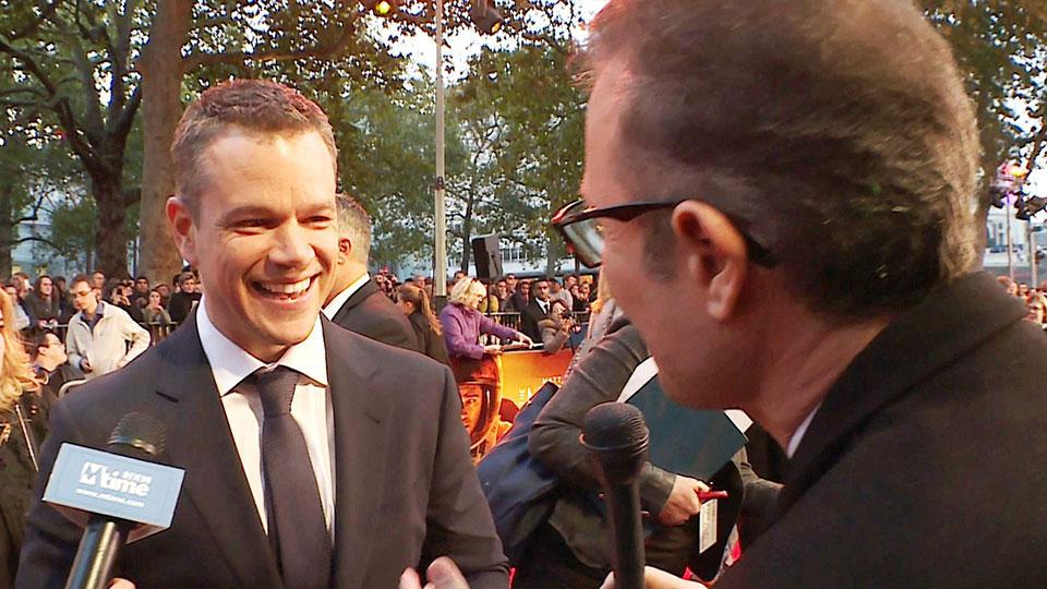 Matt Damon - THE MARTIAN - London 2015