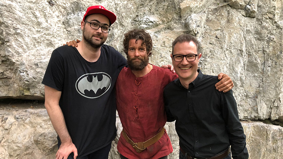 Carmine Carpenito und Damien Puckler - TELL A STORY - Sachseln 2018
